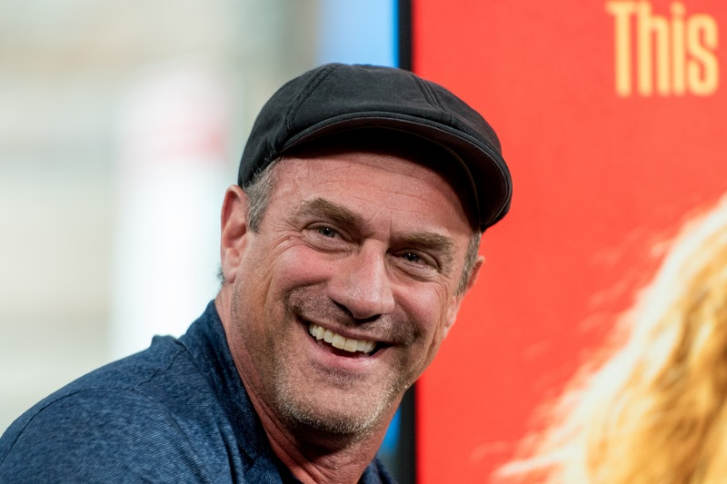 """NEW YORK, NY - MAY 08:  Actor Chris Meloni discuss """"Snatched"""" with the Build Series at Build Studio on May 8, 2017 in New York City.  (Photo by Roy Rochlin/FilmMagic)"""