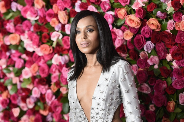 NEW YORK, NY - JUNE 10:  Kerry Washington attends the 72nd Annual Tony Awards on June 10, 2018 in New York City.  (Photo by Steven Ferdman/Patrick McMullan via Getty Images)