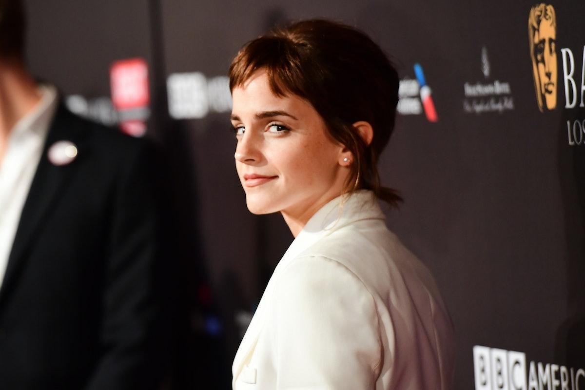 LOS ANGELES, CA - JANUARY 06:  Emma Watson attends The BAFTA Los Angeles Tea Party at Four Seasons Hotel Los Angeles at Beverly Hills on January 6, 2018 in Los Angeles, California.  (Photo by Matt Winkelmeyer/BAFTA LA/Getty Images for BAFTA LA)