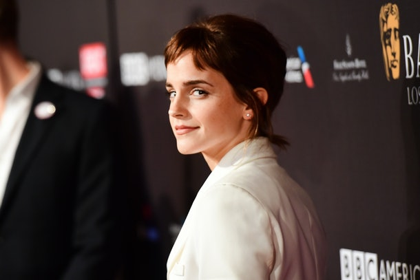 LOS ANGELES, CA - JANUARY 06:  Emma Watson attends The BAFTA Los Angeles Tea Party at Four Seasons Hotel Los Angeles at Beverly Hills on January 6, 2018 in Los Angeles, California.  (Photo by Matt Winkelmeyer/BAFTA LA/Getty Images for BAFTA LA)