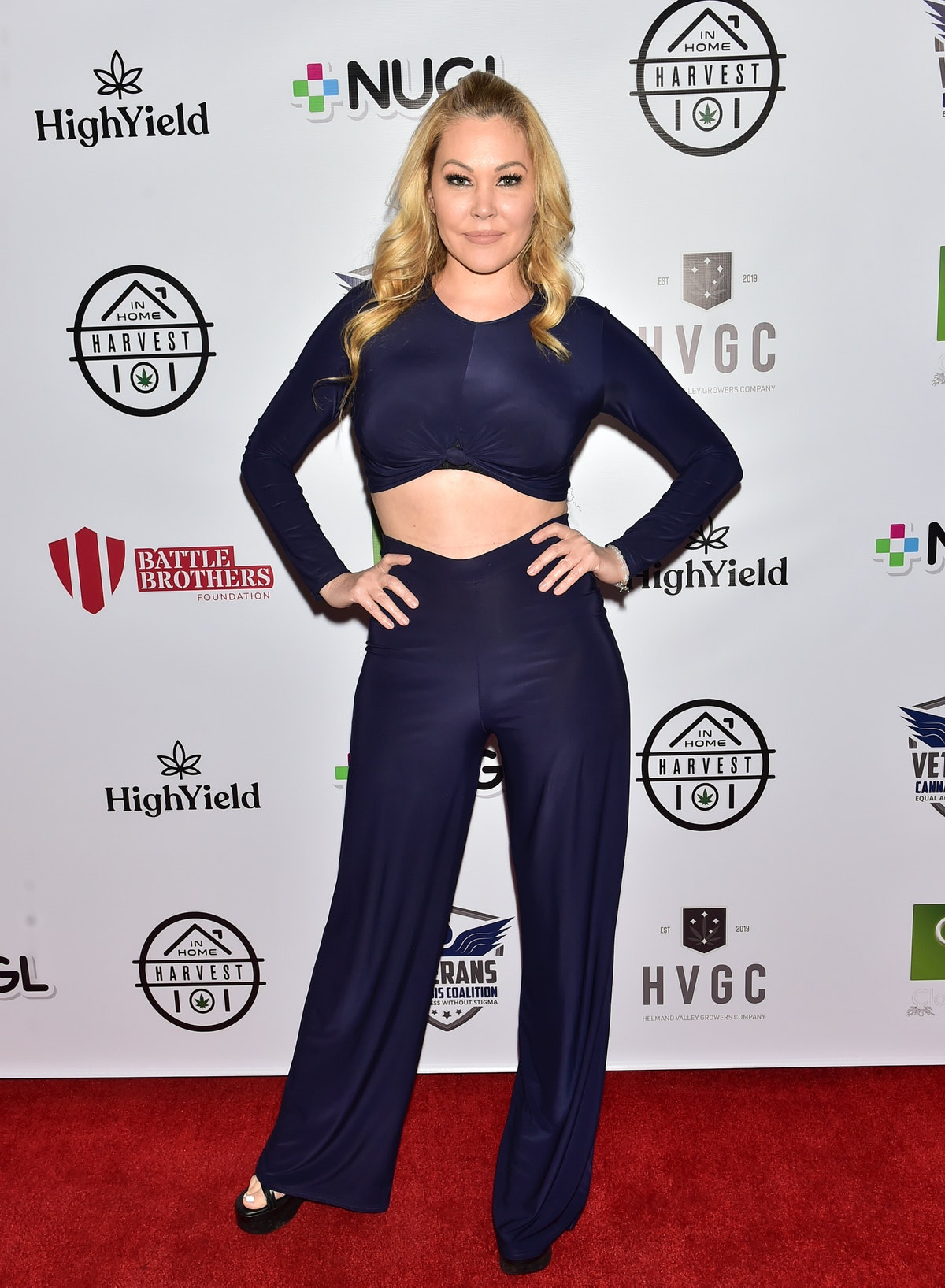 LOS ANGELES, CALIFORNIA - DECEMBER 19: Shanna Moakler arrives at 2019 Heroes' Harvest on December 19...