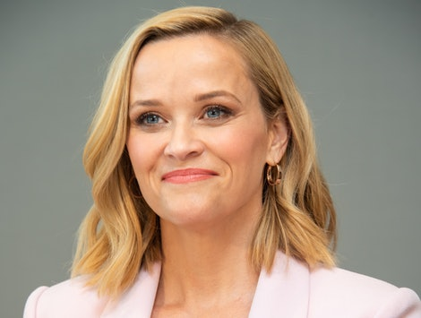 "WEST HOLLYWOOD, CALIFORNIA - OCTOBER 13: Reese Witherspoon at ""The Morning Show"" Press Conference at The West Hollywood Edition on October 13, 2019 in West Hollywood, California. (Photo by Vera Anderson/WireImage)"