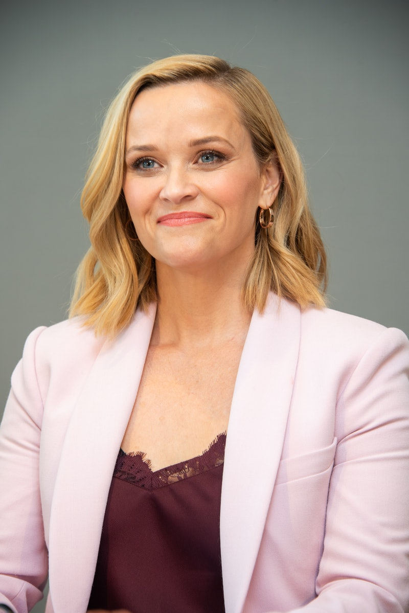 """WEST HOLLYWOOD, CALIFORNIA - OCTOBER 13: Reese Witherspoon at """"The Morning Show"""" Press Conference at The West Hollywood Edition on October 13, 2019 in West Hollywood, California. (Photo by Vera Anderson/WireImage)"""