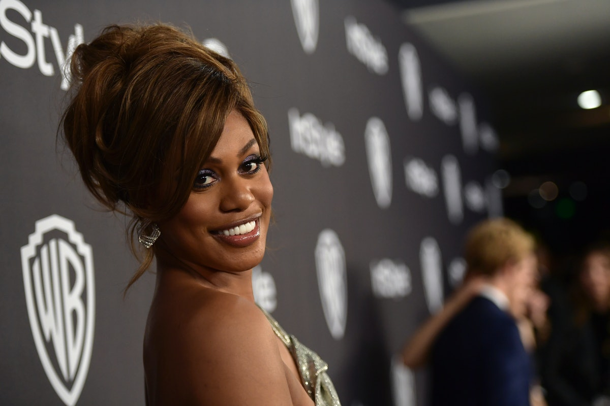 BEVERLY HILLS, CA - JANUARY 06:  Laverne Cox attends the 2019 InStyle and Warner Bros. 76th Annual Golden Globe Awards Post-Party at The Beverly Hilton Hotel on January 6, 2019 in Beverly Hills, California.  (Photo by Matt Winkelmeyer/Getty Images for InStyle)