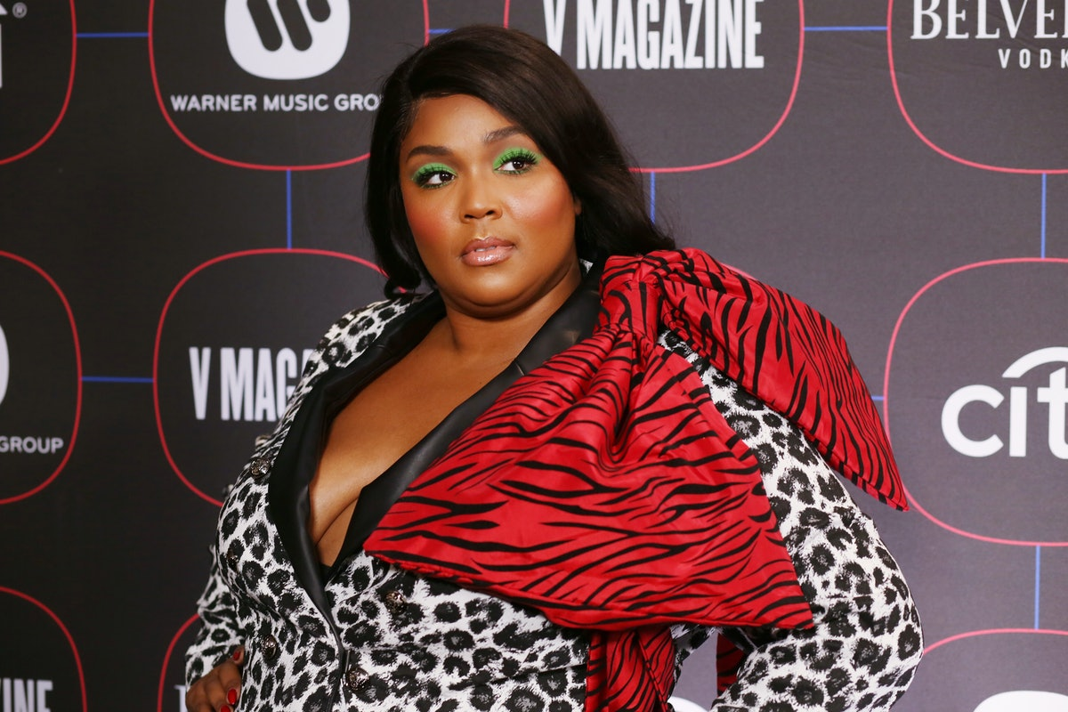 LOS ANGELES, CA - FEBRUARY 07:  Lizzo attends the Warner Music Pre-Grammy Party at the NoMad Hotel on February 7, 2019 in Los Angeles, California.  (Photo by Randy Shropshire/Getty Images for Warner Music)