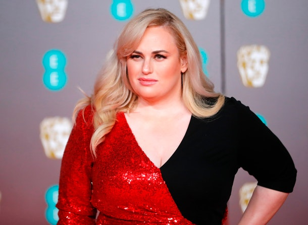Australian actress Rebel Wilson poses on the red carpet upon arrival at the BAFTA British Academy Film Awards at the Royal Albert Hall in London on February 2, 2020. (Photo by Tolga AKMEN / AFP) (Photo by TOLGA AKMEN/AFP via Getty Images)