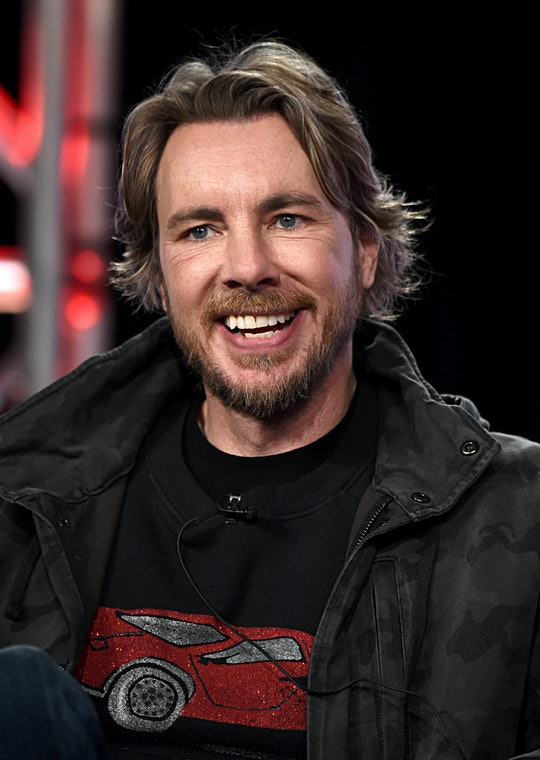 PASADENA, CALIFORNIA - JANUARY 16: Dax Shepard of 'Top Gear America' speaks onstage during the MotorTrend portion of the Discovery, Inc. TCA Winter Panel 2020 at The Langham Huntington, Pasadena on January 16, 2020 in Pasadena, California. (Photo by Amanda Edwards/Getty Images for Discovery, Inc.)