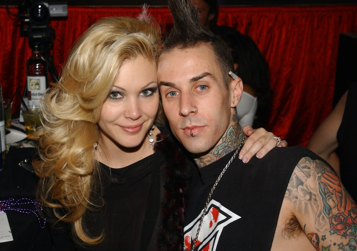 Shanna Moakler and Travis Barker during Beachers Comedy Madhouse - October 9, 2004 at The Hard Rock ...