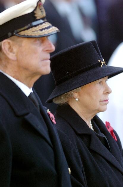Prince Philip, Duke of Edinburgh and HM Queen Elizabeth II (Photo by J. Quinton/WireImage)