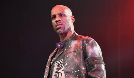 NEW YORK, NY - APRIL 21:  Rapper DMX performs live on stage for the Ruff Ryder's Reunion Tour 2017 at Barclays Center of Brooklyn on April 21, 2017 in New York City.  (Photo by Matthew Eisman/Getty Images)