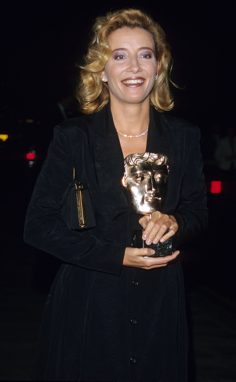 London April 9th 1996. Emma Thompson at the BAFTA awards (Photo by Tom Wargacki/WireImage)