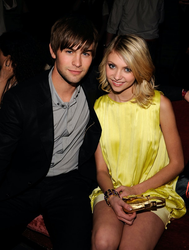 NEW YORK - MAY 13:  Actors Chace Crawford and Taylor Momsen during the Entertainment Weekly & Vavoom Annual Upfront Party at the Bowery Hotel on May 13, 2008 in New York City.  (Photo by Larry Busacca/WireImage)