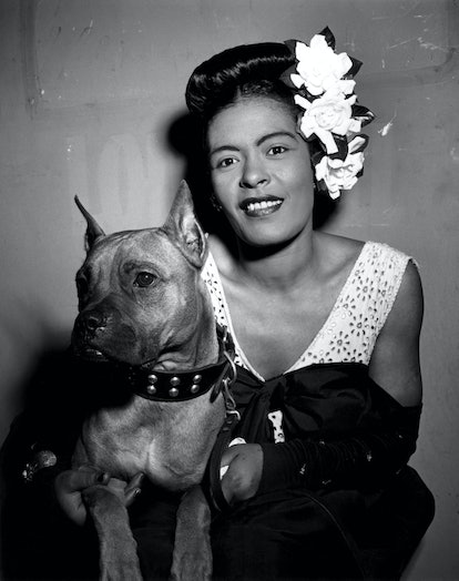 UNITED STATES - JANUARY 01:  Photo of Billie HOLIDAY  (Photo by William Gottlieb/Redferns)