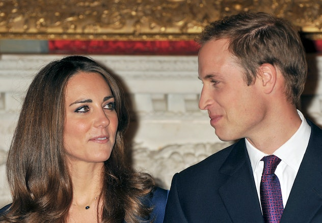 Prince William and Kate Middleton's engagement was in 2010.