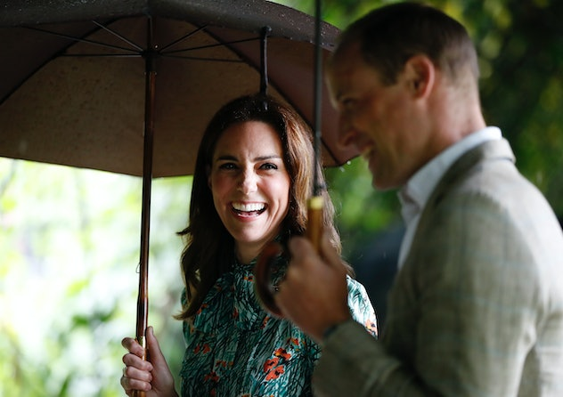 Kate Middleton shares a laugh with Prince William.