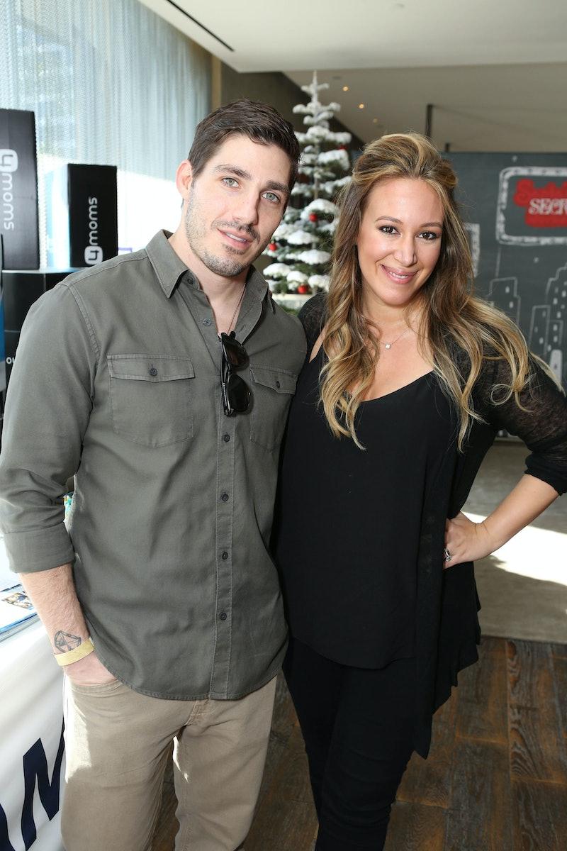 LOS ANGELES, CA - DECEMBER 06:  Matt Rosenberg and actress Haylie Duff attend the 4th Annual Santa's...