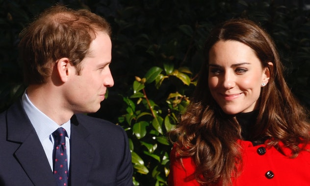 The couple returned to their old school for a fundraiser.