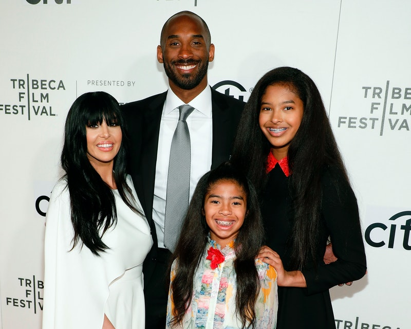 NEW YORK, NY - APRIL 23:  Kobe Bryant, Vanessa Bryant, Gianna Briant, and Natalia Bryant attend Tribeca Talks during the 2017 Tribeca Film Festival at Borough of Manhattan Community College on April 23, 2017 in New York City.  (Photo by Taylor Hill/Getty Images)