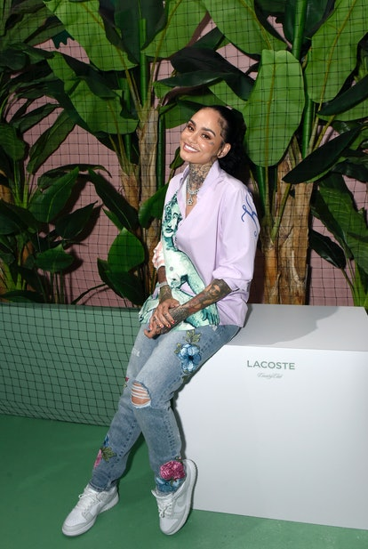 BEVERLY HILLS, CALIFORNIA - MAY 07: Kehlani attends a celebrity table tennis invitational during Lac...