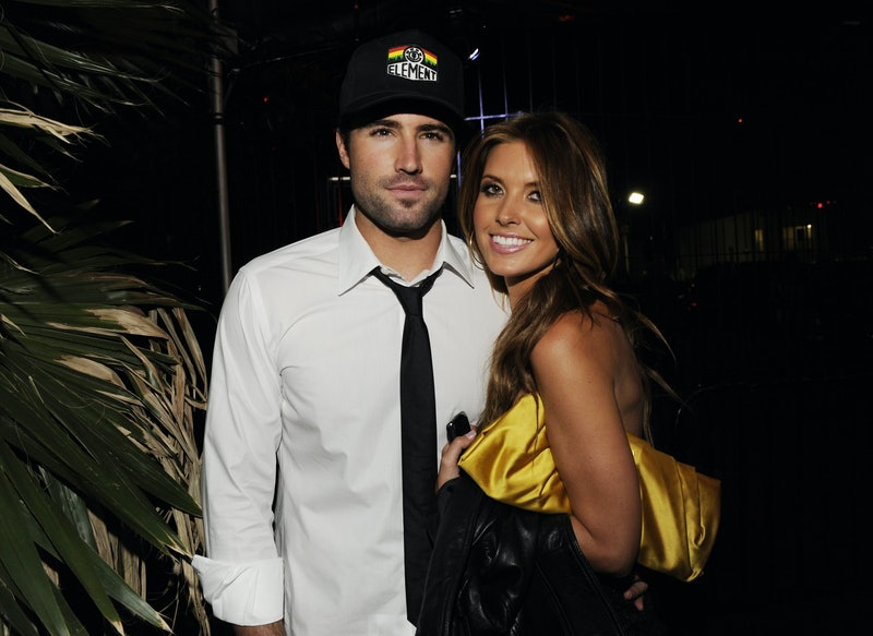 Brody Jenner and Audrina Patridge attend Sylvain Bitton and JT Torregiani's birthday celebration at Les Deux on April 28, 2010 in Los Angeles, California. (Photo by Amy Graves/WireImage)