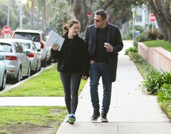 LOS ANGELES, CA - FEBRUARY 27: Jennifer Garner and Ben Affleck are seen on February 27, 2019 in Los ...