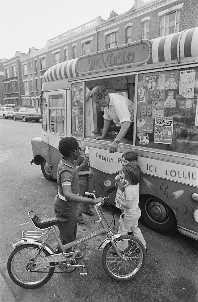 1970s ice cream truck.