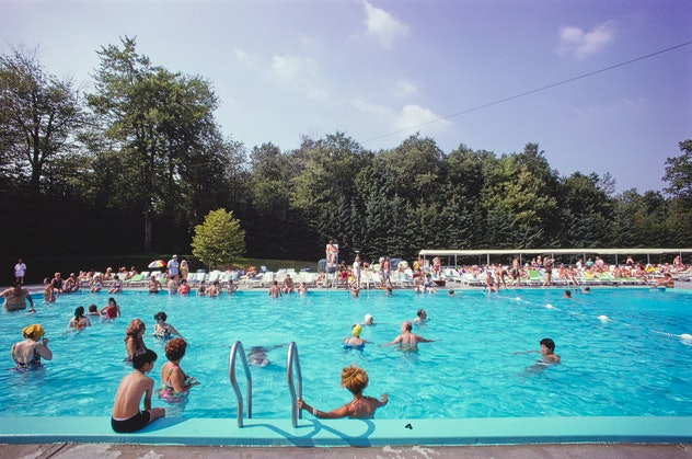 A 1970s pool in New York.