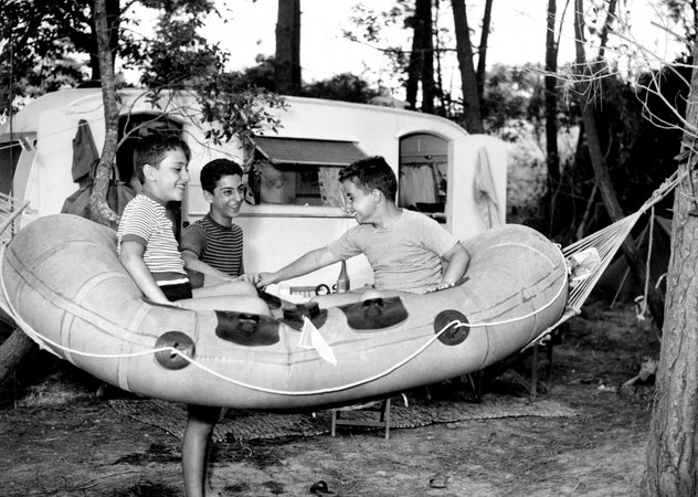Vintage camping has some great ideas.