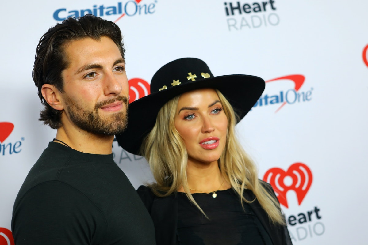 INGLEWOOD, CALIFORNIA - JANUARY 18: (L-R) Jason Tartick and Kaitlyn Bristowe attend iHeartRadio ALTer EGO presented by Capital One at The Forum on January 18, 2020 in Inglewood, California. (Photo by JC Olivera/Getty Images)