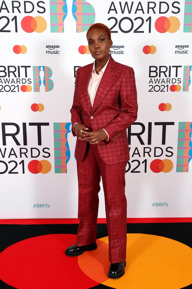 LONDON, ENGLAND - MAY 11: Arlo Parks attends The BRIT Awards 2021 at The O2 Arena on May 11, 2021 in London, England. (Photo by JMEnternational/JMEnternational for BRIT Awards/Getty Images)