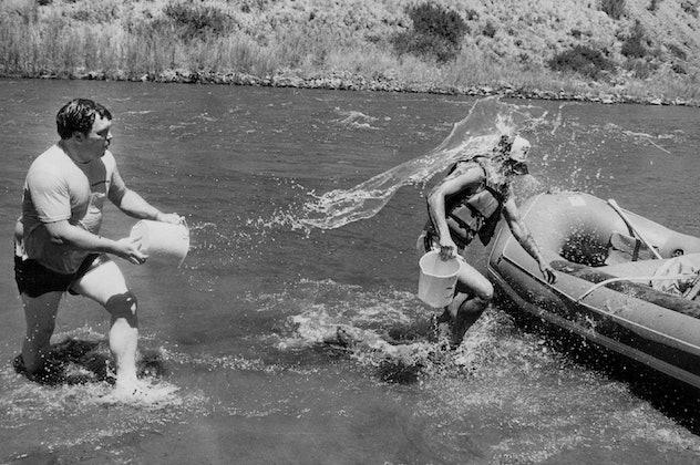 1980s lake trip.