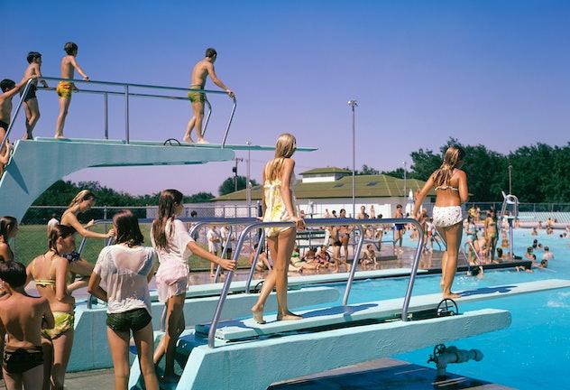 1970s public pool.