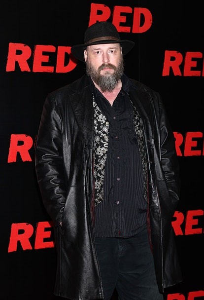 Warren Ellis arriving for UK premiere of Red at the Royal Festival Hall, London.   (Photo by Yui Mok/PA Images via Getty Images)