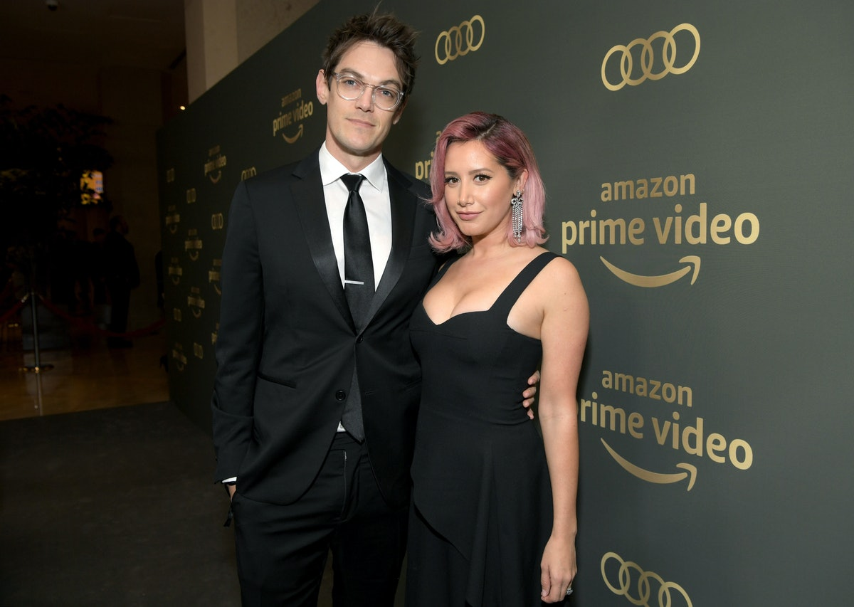 BEVERLY HILLS, CA - JANUARY 06:  Christopher French and Ashley Tisdale attend the Amazon Prime Video's Golden Globe Awards After Party at The Beverly Hilton Hotel on January 6, 2019 in Beverly Hills, California.  (Photo by Emma McIntyre/Getty Images)