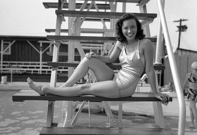 A public pool in Nashville, TN in 1948.