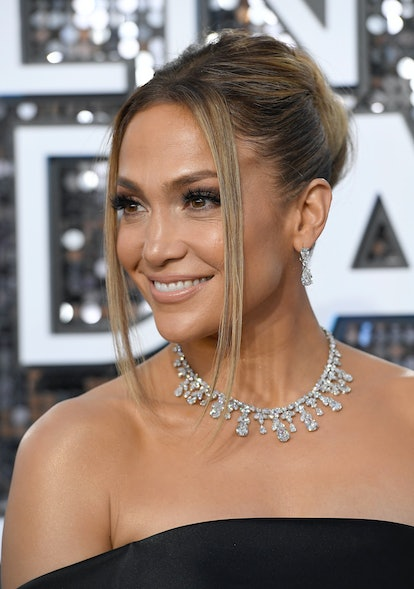 Date night hairstyle:  J.Lo.