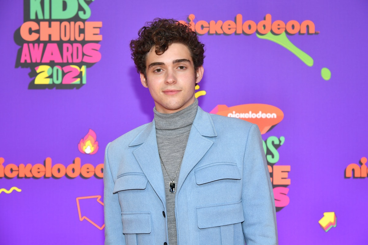 SANTA MONICA, CALIFORNIA - MARCH 13: In this image released on March 13, Joshua Bassett attends Nickelodeon's Kids' Choice Awards at Barker Hangar on March 13, 2021 in Santa Monica, California. (Photo by Amy Sussman/KCA2021/Getty Images for Nickelodeon)