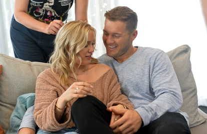 MAR VISTA, CALIFORNIA - OCTOBER 08: Cassie Randolph and Colton Underwood star in a new ad campaign for Tubi, the worlds largest free movie and TV streaming service on October 08, 2019 in Mar Vista, California. (Photo by Jerod Harris/Getty Images for Tubi)