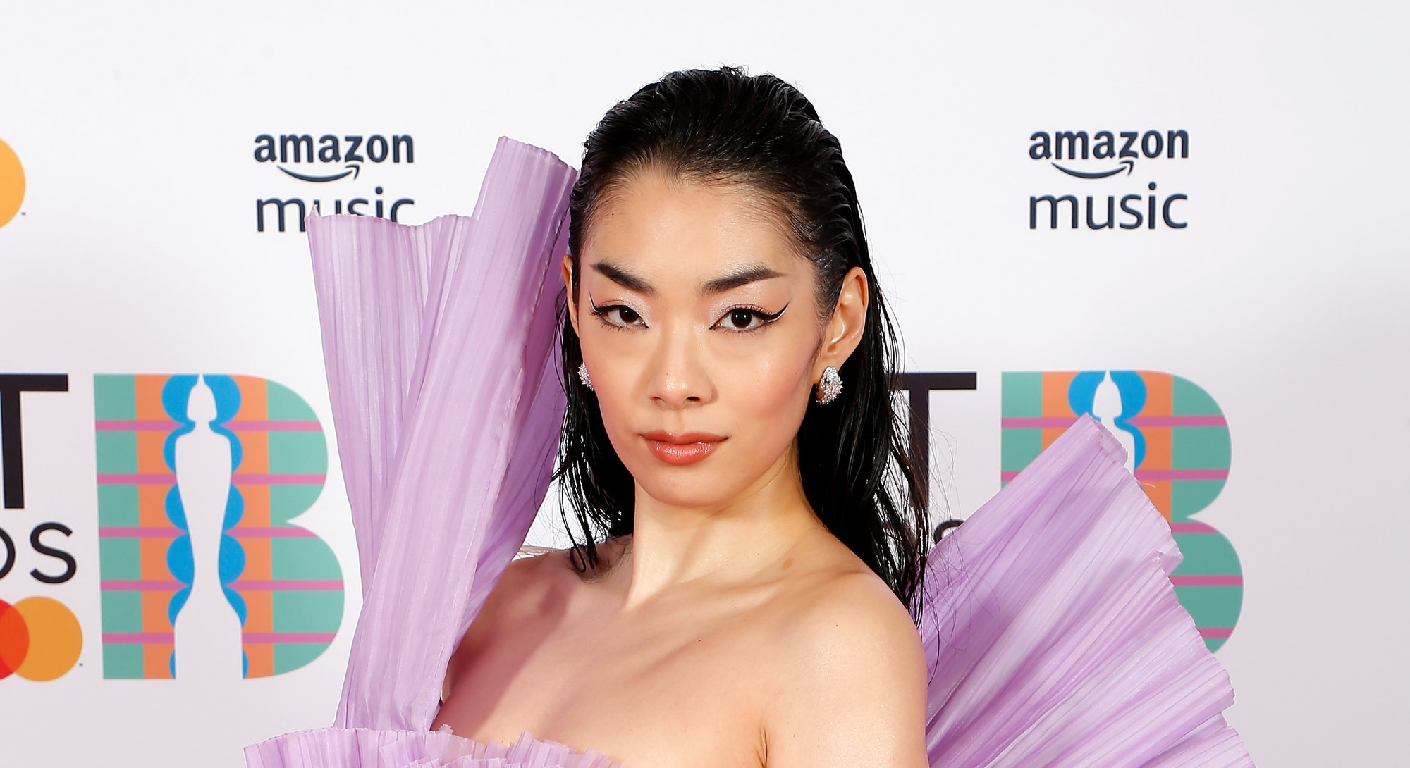 LONDON, ENGLAND - MAY 11: Rina Sawayama attends The BRIT Awards 2021 at The O2 Arena on May 11, 2021 in London, England. (Photo by JMEnternational/JMEnternational for BRIT Awards/Getty Images)