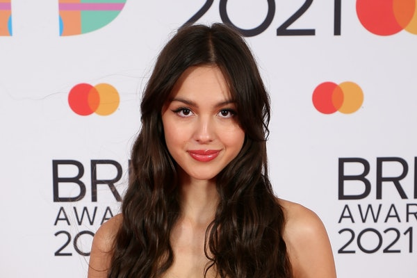 LONDON, ENGLAND - MAY 11: Olivia Rodrigo attends The BRIT Awards 2021 at The O2 Arena on May 11, 2021 in London, England. (Photo by JMEnternational/JMEnternational for BRIT Awards/Getty Images)