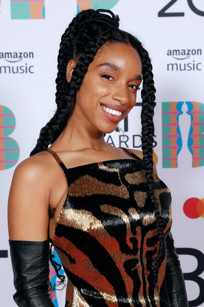 LONDON, ENGLAND - MAY 11: Lianne La Havas poses in the media room during The BRIT Awards 2021 at The O2 Arena on May 11, 2021 in London, England. (Photo by JMEnternational/JMEnternational for BRIT Awards/Getty Images)
