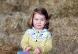 "TOPSHOT - A handout picture released by Kensington Palace and Britain's Duke and Duchess of Cambridge on May 1, 2017 and taken by the Duchess shows Princess Charlotte of Cambridge at Anmer Hall in the village of Anmer in Norfolk, eastern England, in April, 2017.    A new photograph of Britain's Princess Charlotte at her family's country home was released by the royal family on May 1, 2017 to mark her second birthday which falls on May 2. The photograph was taken by her mother, Catherine, Duchess of Cambridge, in April 2017 at Anmer Hall, the secluded house in Norfolk, eastern England, where the family spends much of its time. / AFP PHOTO / KENSINGTON PALACE / The Duchess of Cambridge / RESTRICTED TO EDITORIAL USE - MANDATORY CREDIT  "" AFP / KENSINGTON PALACE / THE DUCHESS OF CAMBRIDGE ""  -  NO MARKETING NO ADVERTISING CAMPAIGNS NO SALES - RESTRICTED TO SUBSCRIPTION USE - DISTRIBUTED AS A SERVICE TO CLIENTS         (Photo credit should read THE DUCHESS OF CAMBRIDGE/AFP via Getty Images)"