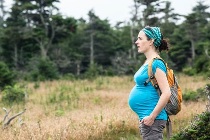 Taking a hike during pregnancy is safe as long as you take some expert precautions.