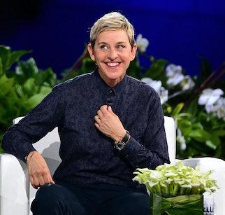 NEW YORK, NY - SEPTEMBER 08:  Ellen Degeneres hosts 'The Ellen Degeneres Show' Season 13 Bi-Coastal ...