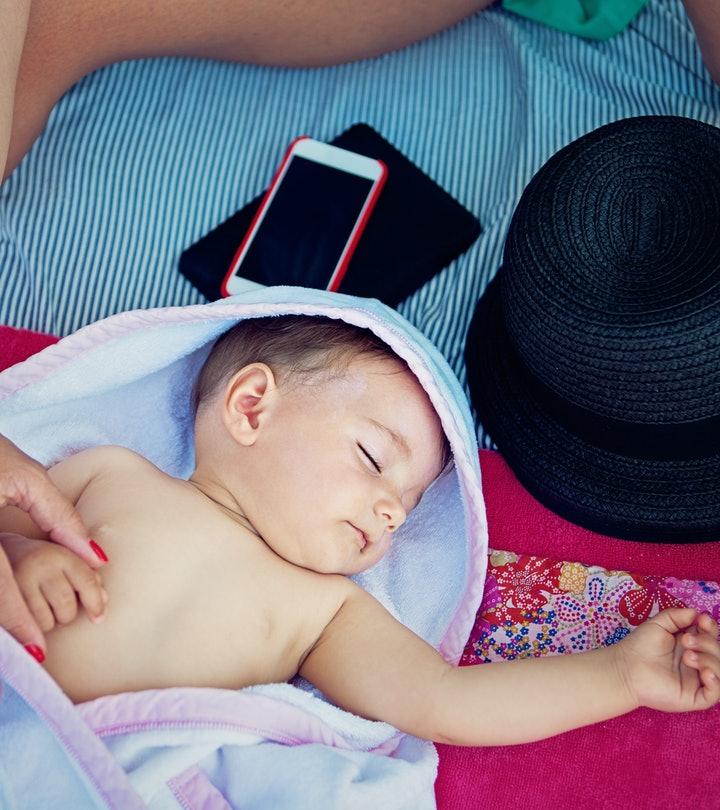 Experts say putting sunscreen on your baby requires a certain age.