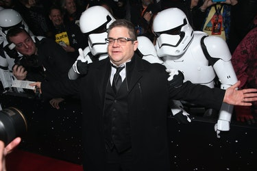 HOLLYWOOD, CA - DECEMBER 14:  Actor Patton Oswalt attends the Premiere of Walt Disney Pictures and L...