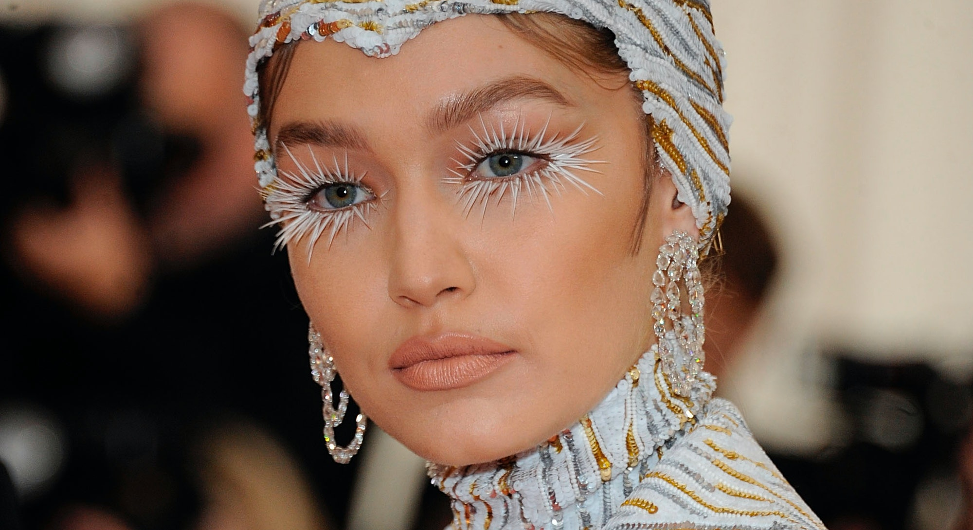 Gigi Hadid rocked one of the greatest Met Gala makeup looks of all time.