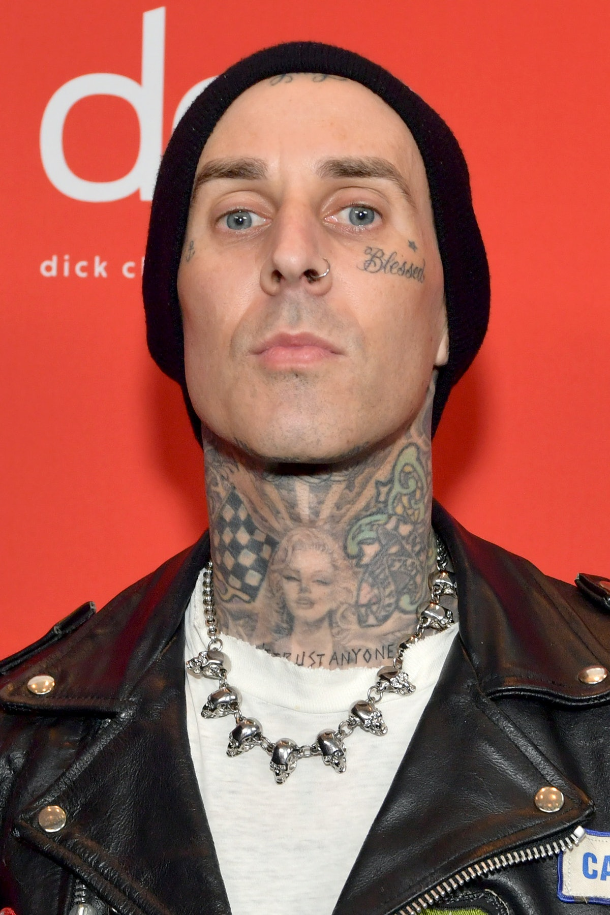 LOS ANGELES, CALIFORNIA - NOVEMBER 22: In this image released on November 22, Travis Barker attends the 2020 American Music Awards at Microsoft Theater on November 22, 2020 in Los Angeles, California. (Photo by Emma McIntyre /AMA2020/Getty Images for dcp)