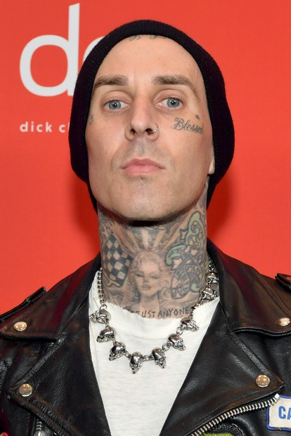 LOS ANGELES, CALIFORNIA - NOVEMBER 22: In this image released on November 22, Travis Barker attends ...