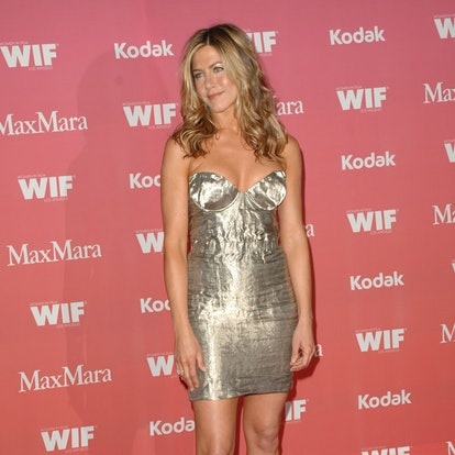 LOS ANGELES, CA - JUNE 12: Jennifer Aniston attends Women In Film Crystal + Lucy Awards presented by MaxMara – Arrivals at Hyatt Regency Century Plaza on June 12, 2009 in Los Angeles, California. (Photo by ANDREAS BRANCH/Patrick McMullan via Getty Images)